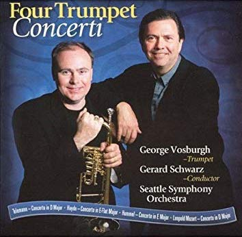 Four Trumpet Concerti CD Cover