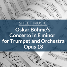 Sheet Music Bohme Opus1 8