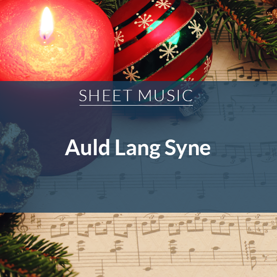 Auld Land Syne arr. Vosburgh Music